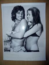 Org foto de prensa 1972 reproductor de George Best Manchester Utd el tiempo de vida & turbulento