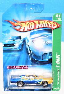 HOT WHEELS 2007 REGULAR TREASURE HUNT '69 PONTIAC GTO