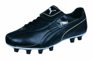 Puma Esito XL i FG Women's Football Boots Soccer Cleats 4409 Black UK Size 5.5
