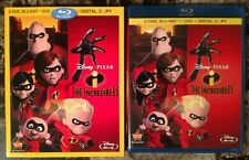 The Incredibles (Blu-ray + Dvd, 2011, 4-Disc Set, w Slipcover) Walt Disney Pixar