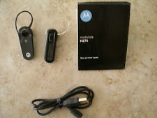 2 Motorola Bluetooth Earpieces Wireless Headsets For Parts only