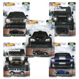 "Pre-Order Hot Wheels 2021 Fast & Furious ""Furious Fleet"" Set of 5, GBW75-956N"