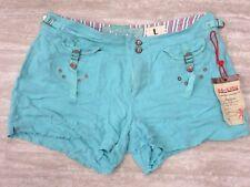 NEW Da-Nang Women's Summer Casual Short Pockets Distress MALIBU SKG1575 LARGE L