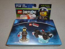 New Lego Movie Bad Cop Police Car Mini Figure Set 71213 Dimensions Minifig Nib