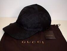 Gucci señores Sport cap base cap size XL (60 cm) negro original GG nuevo