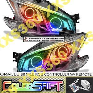ORACLE Headlight HALO RING KIT for Nissan Maxima 09-14 LED ColorSHIFT Simple RGB