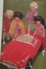 KNITTING PATTERN for Sindy and 11.1/2 inch  Dolls cloths 6275