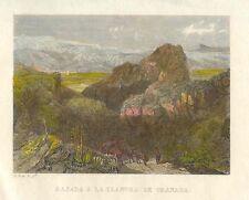 España. Andalucía. «Bajada a la llanura de Granada»