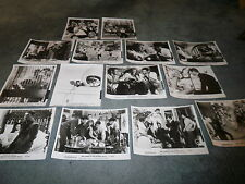 THE CAPER OF THE GOLDEN BULLS(1966)STEPHEN BOYD SET OF 14 ORIG STILLS+