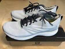 NEW Salomon Sonic RA PRO 2 Men's Running Shoes size 11.5 White / Pearl