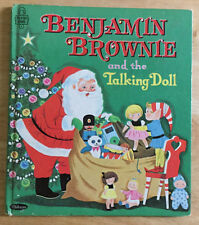 Benjamin Brownie and the Talking Doll 1966 Whitman Publishing #2516 Judy Strong