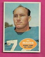 1960 TOPPS # 49 LIONS GIL MAINS EX-MT CARD (INV# C0527)