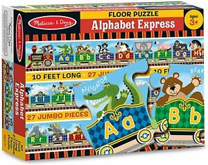 Melissa & Doug - Alphabet Express Floor Puzzle 27pc