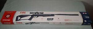 Crosman Quiet Fire .177 cal Pellet 1200 FPS Air Rifle Break Barrel With Scope