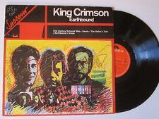 KING CRIMSON Earthbound LP ITALY UNIQUE ART COVER GENTLE GIANT