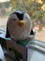 """Cute Animal Succulent Planter/Pot Ceramic 4"""" Penguin"""
