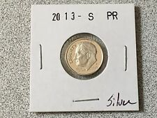 2013 S GEM PROOF ROOSEVELT DIME 90% SILVER