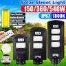 180/360/540W LED Lampione Stradale Faro Led Pannello Solare Telecomando Display