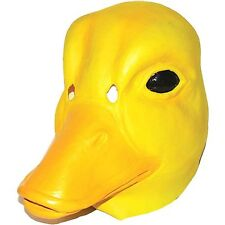 NWT Yellow Duck Animal Holloween Mask for Adults