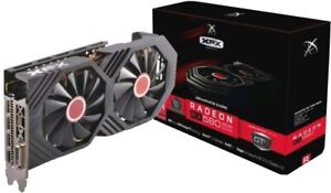 XFX AMD Radeon RX 580 GTS Black Edition 8GB GDDR5 PCI Express 3.0 Graphics Card