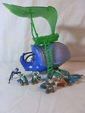 A Bugs Life Mini Figures Set with big Dim PT Flea Rosie Tuck Roll Francis