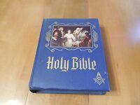 Freemason's Holy Bible Heirloom Bible Publisher's 1971 Hardcover Illustrated KJV
