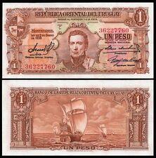 Uruguay 1 PESO L.1939 Serie C Sign.3 P 35b UNC
