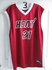 Hassan Whiteside #21 Men's XL Adidas Miami Heat NBA Jersey Red Never Worn