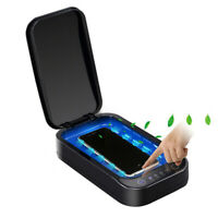 UV Light Sterilizer Box Ultraviolet Disinfection Case Sanitizer Cleaner for Keys