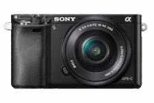 Sony Alpha 6000L 24,3 Mpix Fotocamera Digitale Mirrorless Kit con 16-50 mm Obiettivo - Nera