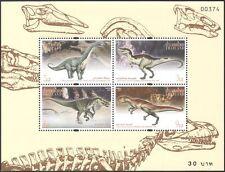 Thailand 1996 Prehistoric Animals/DINOSAURS/Reptiles/Nature 4v m/s ref:s5773