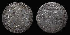 pci1252) POLONIA - Sigismondo III (1587-1632) 1/4 di tallero 1623