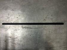 "STRAIGHT DRAG BAR 1"" Harley Cafe Custom Broom Handle Non-Dimpled Black 32"""