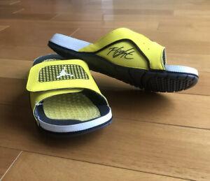 Jordan Hydro IV/4 Retro, Slides, Lightning, Size 11…