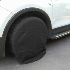Black Wheel Tire Covers For Rv Trailer Camper Car Truck And Motor Home 32'' Dia