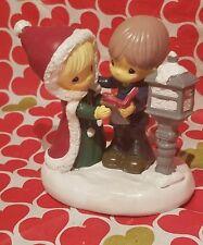 Precious Moments Kcare Christmas Caroling Figurine Scene Adorable
