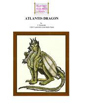ATLANTIS DRAGON - CROSS STITCH CHART