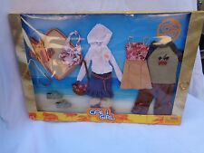 BARBIE CALI GIRL FASHION OUTFITS WITH SHOES PACK 1 2003 NEW