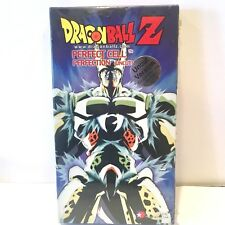 Dragon Ball Z - Perfect Cell - Perfection (UNCUT) 2001 Cell Vegeta VHS ~ NEW