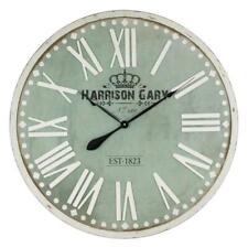"Colossal Sized Retro Shabby Chic Wall Clock. 80cm Diameter (31"" +) C2034"