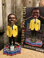 WALTER PAYTON Chicago Bears 1993 NFL Hall of Fame Gold Jacket Bobblehead