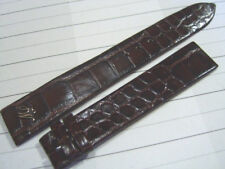 VINTAGE NOS MAURICE LACROIX 16X14 MM BROWN LEATHER BAND STRAP              *5220