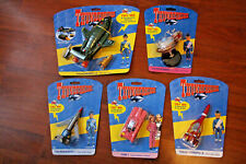 THUNDERBIRDS SOUNDTECH CARDED MODELS THUNDERBIRD 1,2,3,5 & FAB 1.