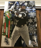 2020 Topps Holiday Luis Robert Rookie RC HW2