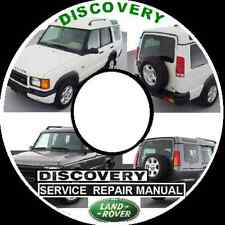 LAND ROVER DISCOVERY series 1 - 2 - 3 - 4 MASTER WORKSHOP REPAIR MANUAL CD