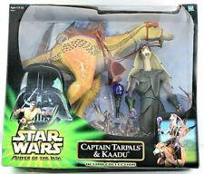 "Star Wars POTJ 12"" (30cm) Captain Tarpals Figure & Huge Kaadu Creature MISB"