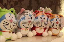 Doraemon 18cm Recording doll Cute Characters plush Birthday Christmas Gift RED