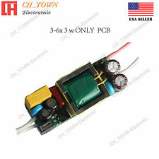 20W 3-6x3W High Power Supply LED Driver For Light AC 85-277V Constant Current