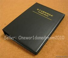 Empty Sample Book Organizer For SMD SMT Resistor Capacitor Assortment Components