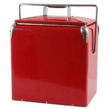 AmeriHome Retro Style Picnic Cooler BT07536 Beverage Cooler NEW